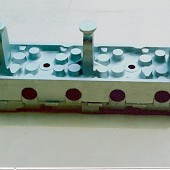 FORD PINTO CYLINDER HEAD CASTING.