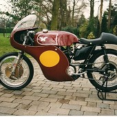 Matchless G50 Replica Race Motorcycle.