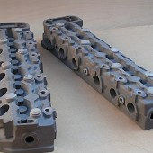 JAGUAR V12 CYLINDER HEAD CASTINGS.