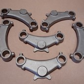 Motorcycle Bottom Yoke Steel Castings