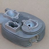 BSA Goldstar Race Cylinder Head.