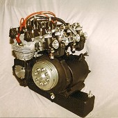 Benelli 250 - 4 Cylinder Replica Engine.