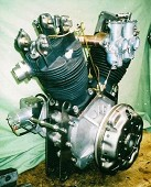 JAP DTZ OHV Engine Conversion.
