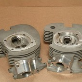 MATCHLESS G50 MOTORCYCLE CYLINDER HEADS