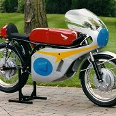 Honda Six RC174 Replica Motorcycle.
