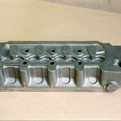 Mini Cooper cylinder head casting (cast Iron).